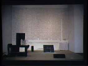 """Image 4 de performance """"écriture"""" de l'artiste Guy Lemonnier"""