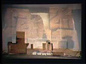 """Image 13 de performance """"écriture"""" de l'artiste Guy Lemonnier"""