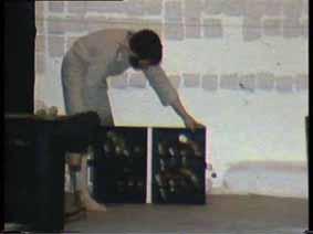 """Image 21 de performance """"écriture"""" de l'artiste Guy Lemonnier"""
