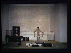 """Image 23 de performance """"écriture"""" de l'artiste Guy Lemonnier"""