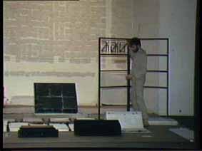 """Image 26 de performance """"écriture"""" de l'artiste Guy Lemonnier"""