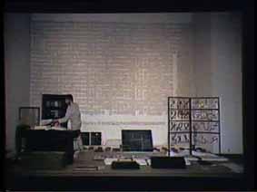 """Image 28 de performance """"écriture"""" de l'artiste Guy Lemonnier"""