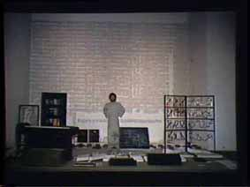 """Image 30 de performance """"écriture"""" de l'artiste Guy Lemonnier"""