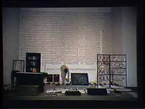 """Image 33 de performance """"écriture"""" de l'artiste Guy Lemonnier"""