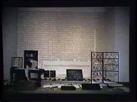 """Image 34 de performance """"écriture"""" de l'artiste Guy Lemonnier"""