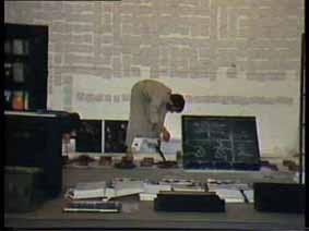 """Image 36 de performance """"écriture"""" de l'artiste Guy Lemonnier"""