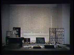 """Image 38 de performance """"écriture"""" de l'artiste Guy Lemonnier"""