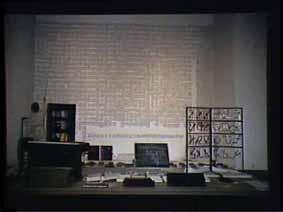 """Image 39 de performance """"écriture"""" de l'artiste Guy Lemonnier"""