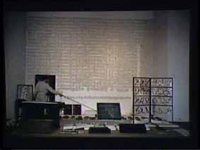 """Image 40 de performance """"écriture"""" de l'artiste Guy Lemonnier"""