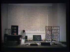 """Image 41 de performance """"écriture"""" de l'artiste Guy Lemonnier"""