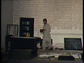 """Image 42 de performance """"écriture"""" de l'artiste Guy Lemonnier"""