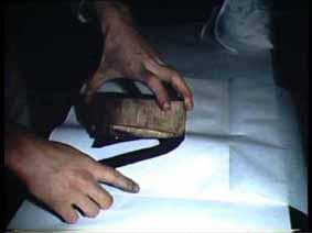 """Image 44 de performance """"écriture"""" de l'artiste Guy Lemonnier"""