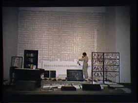 """Image 46 de performance """"écriture"""" de l'artiste Guy Lemonnier"""